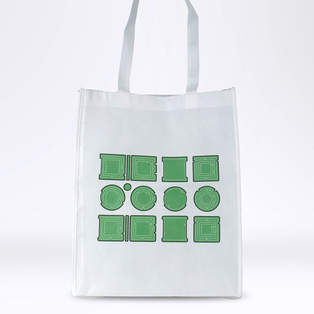 'Property is Theft' Reusable Tote: Green