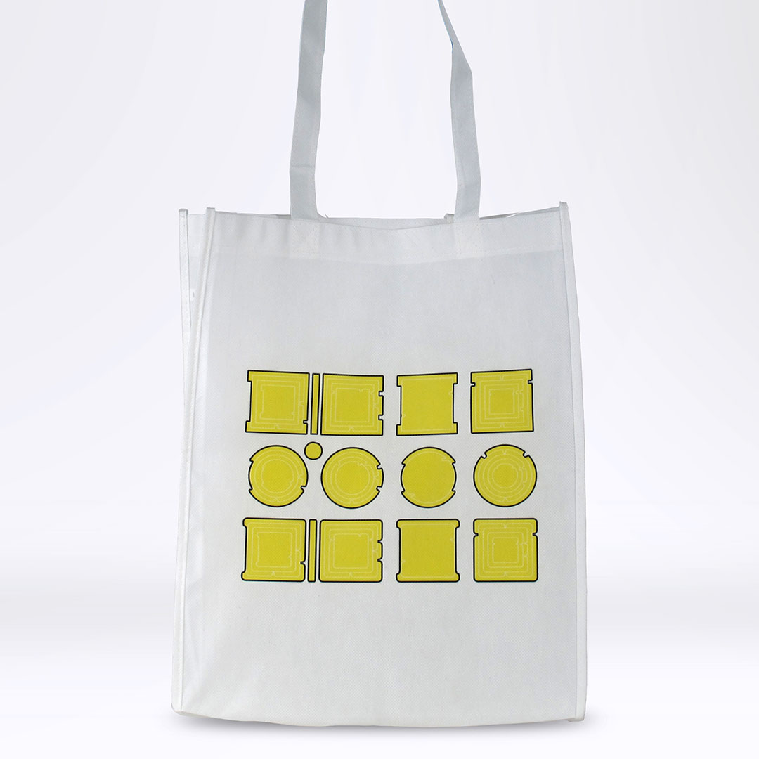 'Property is Theft' Reusable Tote: Yellow