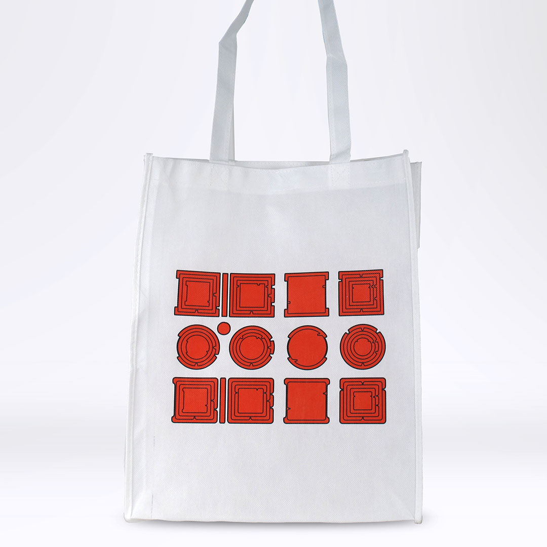 'Property is Theft' Reusable Tote: Red