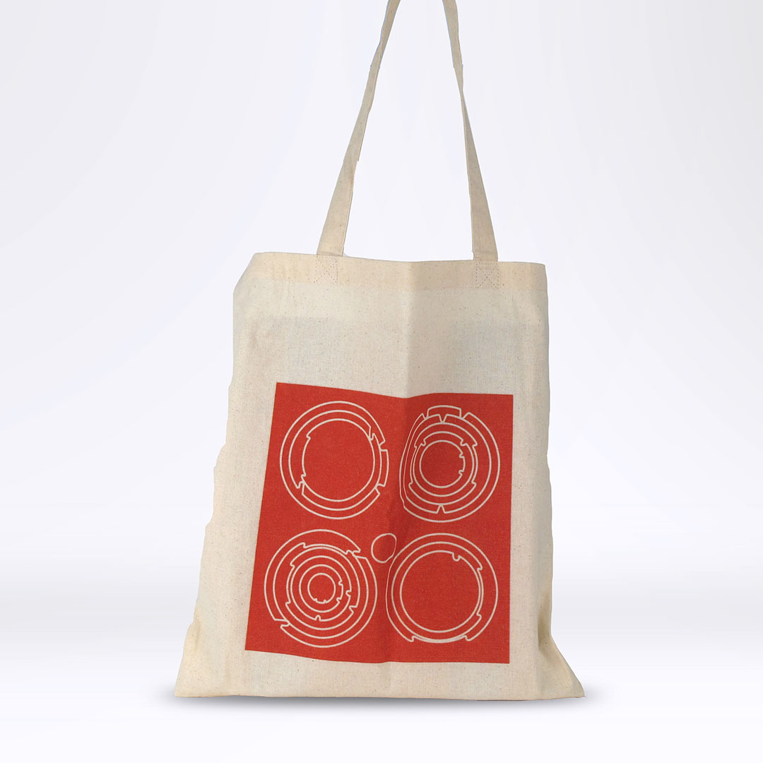 'End White Supremacy' Tote: Red