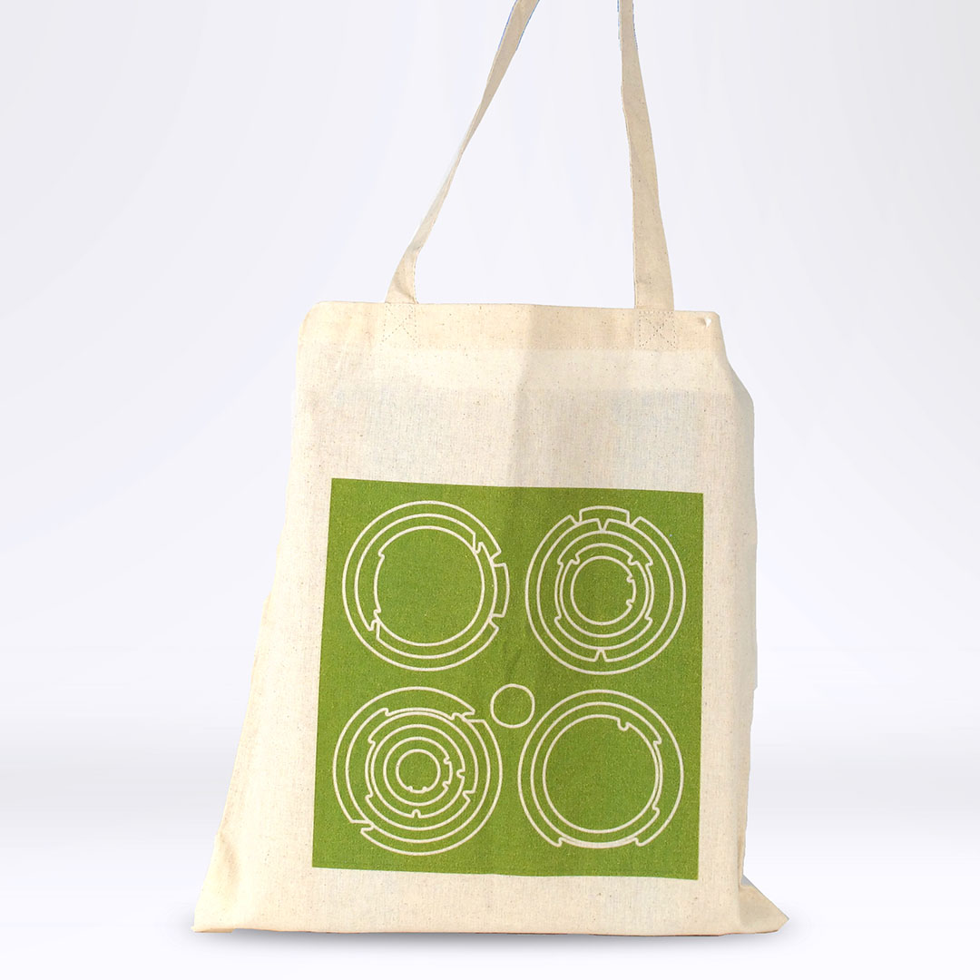 'End White Supremacy' Tote: Green