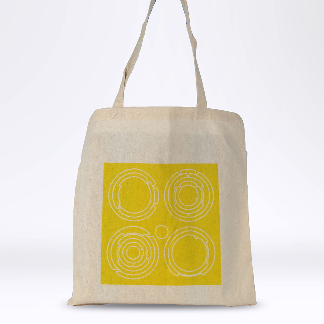 'End White Supremacy' Tote: Yellow