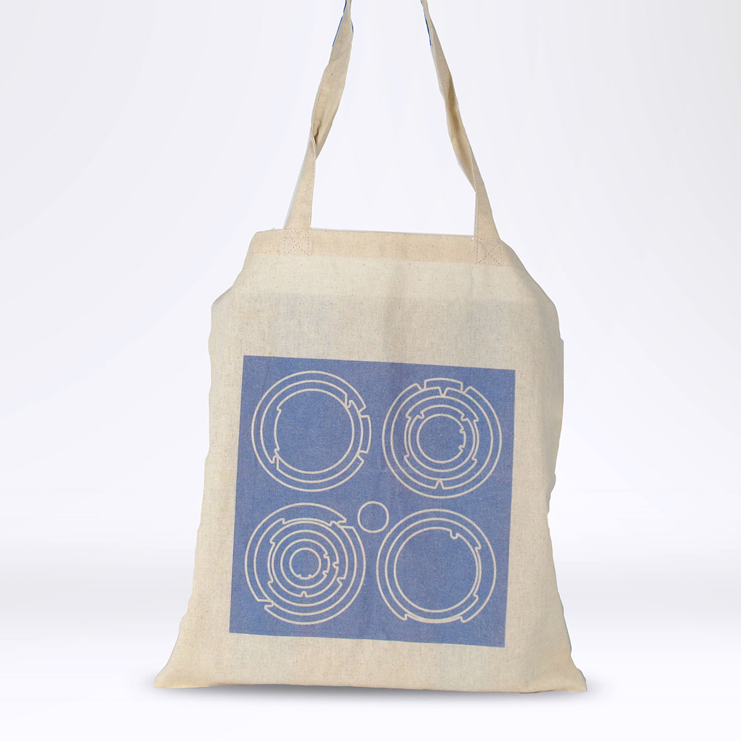 'End White Supremacy' Tote: Blue